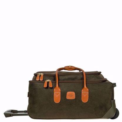 "Bric's rolling duffle bag Life 21"" olive BLF05220.378"