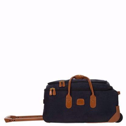 "Bric's rolling duffle bag Life 21"" blue BLF05220.396"