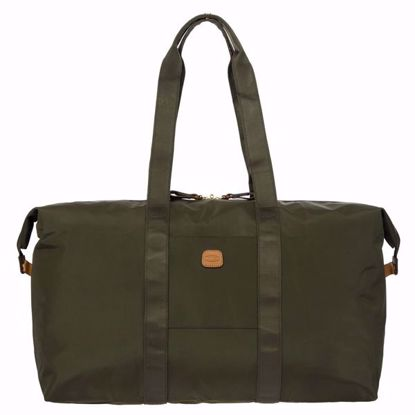 Bric's duffle bag X-Bag medium olive BXG40202.078