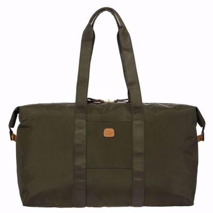Bric's duffle bag X-Bag medium olive BXG40202.078