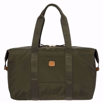 Bric's duffle bag X-Bag small olive BXG40203.078