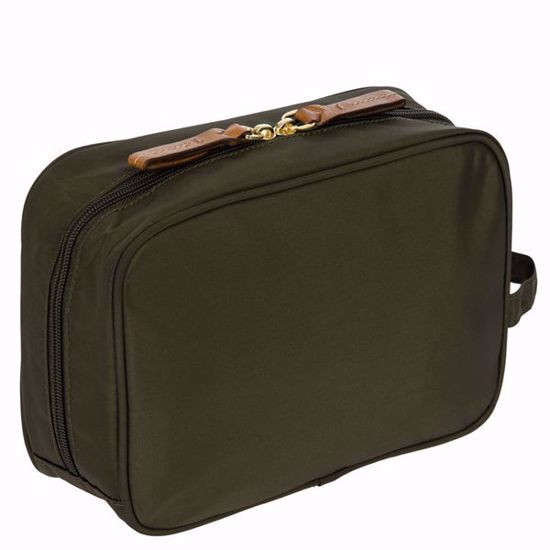 Bric's toiletry bag X-Bag olive BXG40606.078