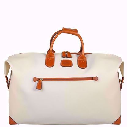 "Bric's duffle bag Firenze 22"" Cream BBJ20202.014"
