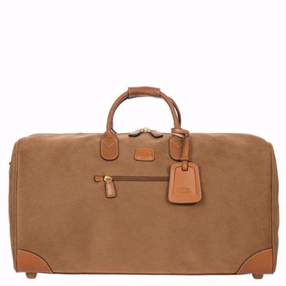 Bric's duffle bag 54cm Life camel BLF00253.216