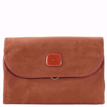 Bric's toiletry bag Life tri-fold camel BLF00676.216