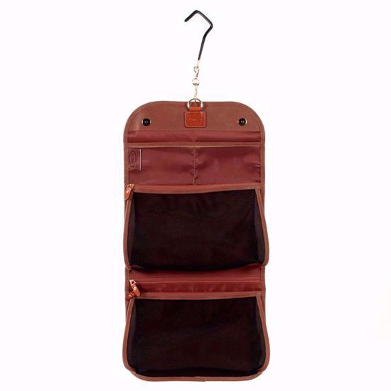 Bric's toiletry bag Life tri-fold camel BLF00676.216