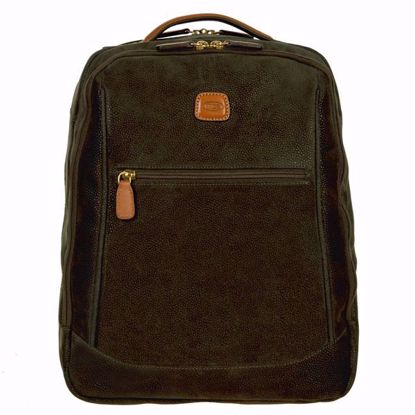 Bric's laptop backpack Life olive BLF04649.378