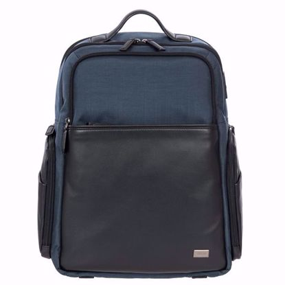 Bric's laptop backpack large Monza blue BR207701.511