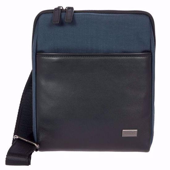 Bric's shoulder bag for men L Monza navy blue BR207709.511