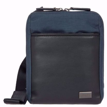 Bric's shoulder bag for men Monza M navy blue BR207710.511