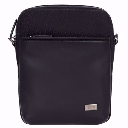 Bric's shoulder bag for men removable Monza black BR207708.909
