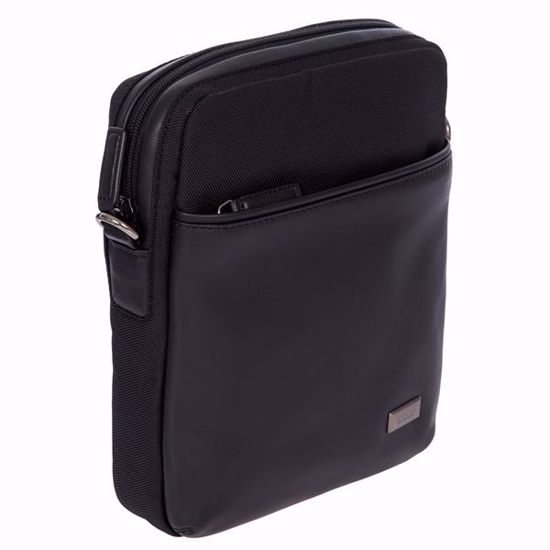 Bric's shoulder bag for men removable Monza black BR207708.909