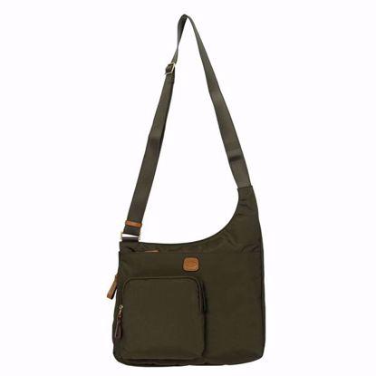 Bric's crossbody bag X-Bag olive BXG42732.078