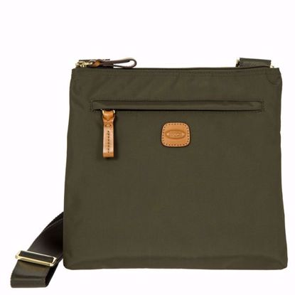 Bric's shoulder bag for men X-Bag olive BXG42733.078