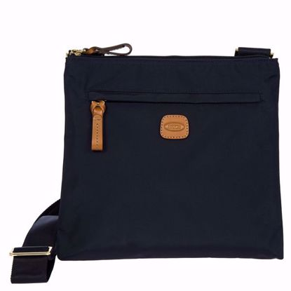 Bric's shoulder bag for men X-Bag blue BXG42733.050