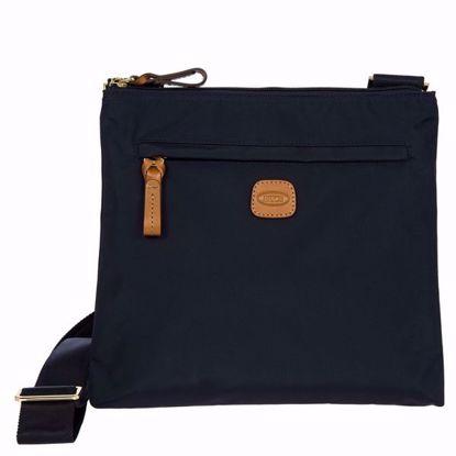 Bric's shoulder bag for men X-Bag blue BXG42733.050