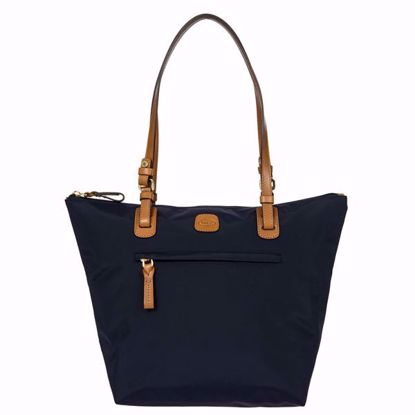 Bric's borsa shopping X-Bag media blu BXG45071.050