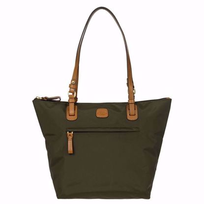 Bric's shopping bag X-Bag medium olive BXG45071.078