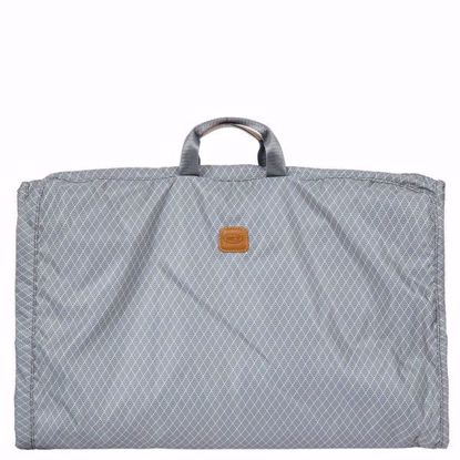 Bric's travel garment bag small Bellagio grey BAC00340.004