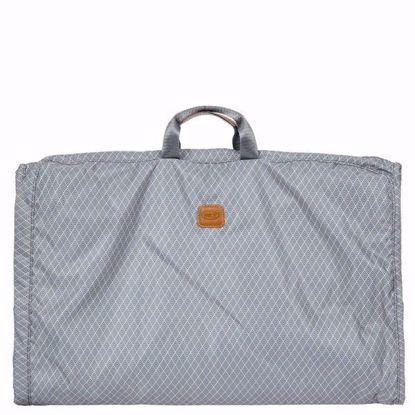 Bric's travel garment bag small Bellagio grey BAC00340.004