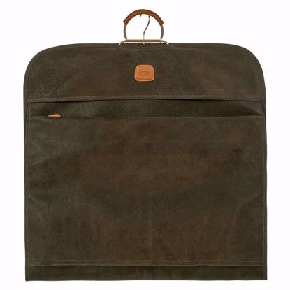 Bric's travel garment bag Life olive BLF00332.378
