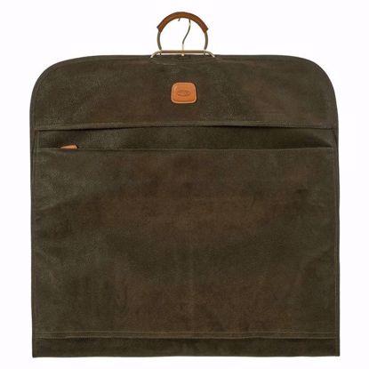 Bric's travel garment bag Life olive BLF00332.378