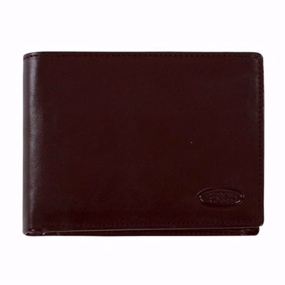Bric's leather wallet for men coin pocket Monte Rosa brown BH109201.002