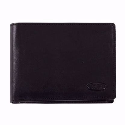 Bric's leather wallet for men coin pocket Monte Rosa black BH109202.001
