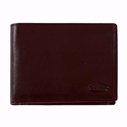 Bric's leather wallet for men coin pocket Monte Rosa brown BH109202.002