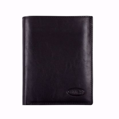 Bric's leather wallet for men vertical Monte Rosa black BH109204.001