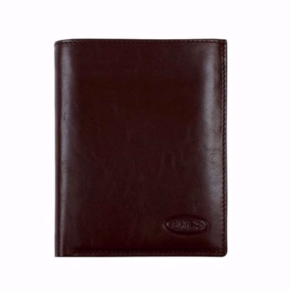 Bric's leather wallet for men vertical Monte Rosa brown BH109204.002