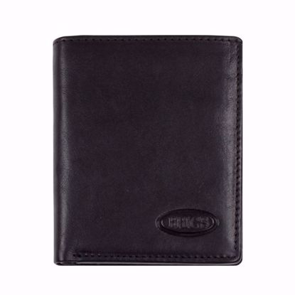 Bric's leather wallet for men small Monte Rosa black BH109206.001