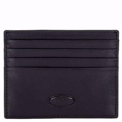 Bric's porta carte di credito in pelle piccolo Monte Rosa nero BH109209.001