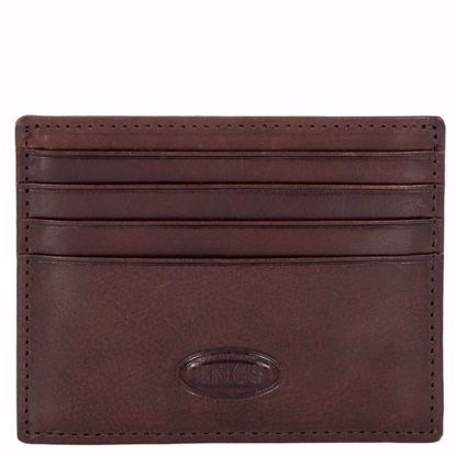 Bric's leather card holder small Monte Rosa brown BH109209.002