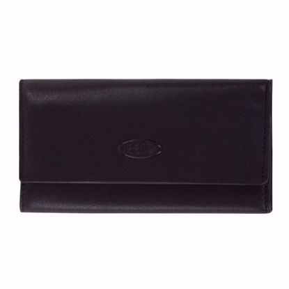 Bric's leather key holder flap closure Monte Rosa black BH109211.001