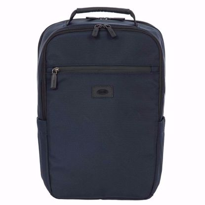 Bric's laptop backpack small Pisa blue BIG05381.006