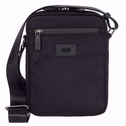 Bric's shoulder bag for men small Pisa black BIG05382.001