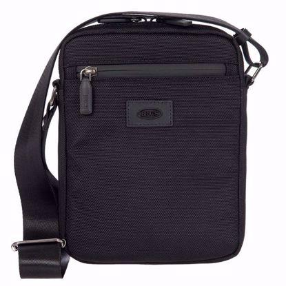 Bric's shoulder bag for men small Pisa black BIG05382.001