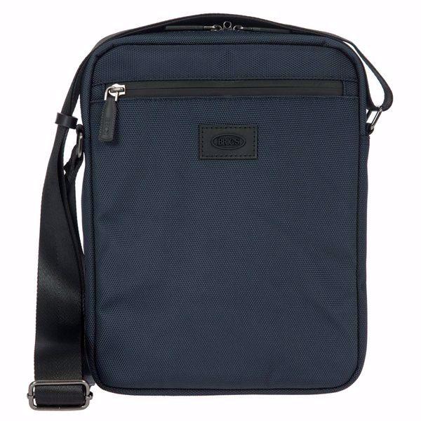 vendita calda online 59814 ddf3e Bric's borsello grande a tracolla uomo Pisa blu