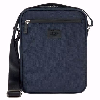 Bric's shoulder bag for men Pisa blue BIG05383.006