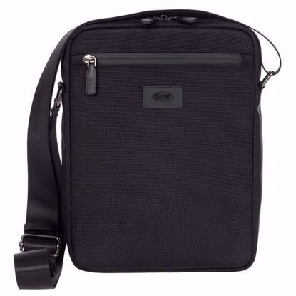 Bric's shoulder bag for men Pisa black BIG05383.001