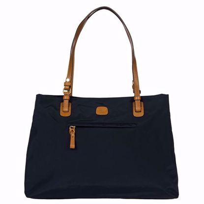Bric's shoulder bag large X-Bag blue BXG45281.050