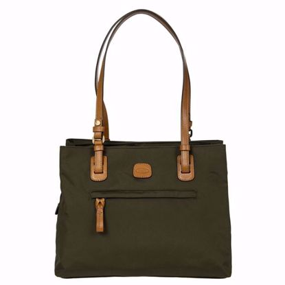 Bric's shoulder bag medium X-Bag olive BXG45282.078