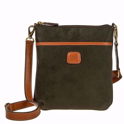 Bric's shoulder bag for men Life olive BLF02705.378