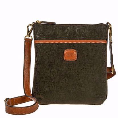 Bric's shoulder bag for men Life olive BLF02705.378
