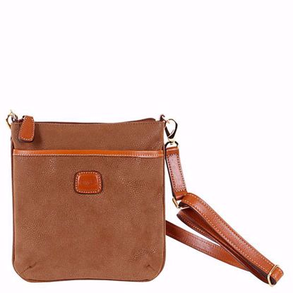 Bric's shoulder bag for men Life camel BLF02705.216