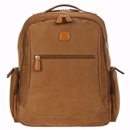 Bric's laptop backpack large Life camel BLF04660.216