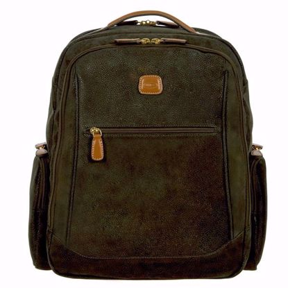 Bric's laptop backpack large Life olive BLF04660.378