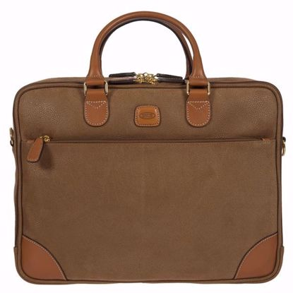 Bric's laptop briefcase Life camel BLF15130.216