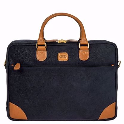 Bric's laptop briefcase Life blue BLF15130.396